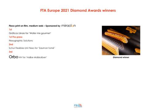 FTA Europe 2021 Diamond Awards Winners Orbo